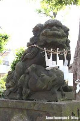 道々八幡神社 大田区久が原1-7-10