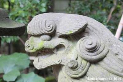 新田神社 大田区矢口2