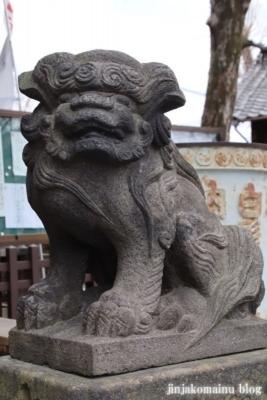 渋江白髭神社 葛飾区東四つ木1