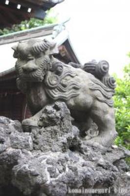 平塚神社 北区上中里1