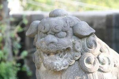 簸川神社 文京区千石7