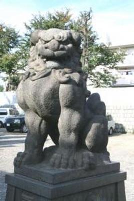 簸川神社 文京区千石2