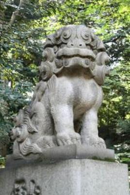 氷川神社 港区赤坂7
