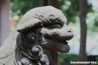八雲氷川神社 目黒区八雲11