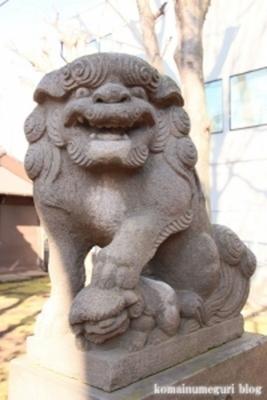 高木神社 目黒区南1