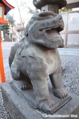 上目黒氷川神社 目黒区大橋1