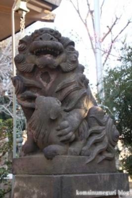 上目黒氷川神社 目黒区大橋5