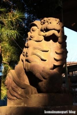 上目黒氷川神社 目黒区大橋6