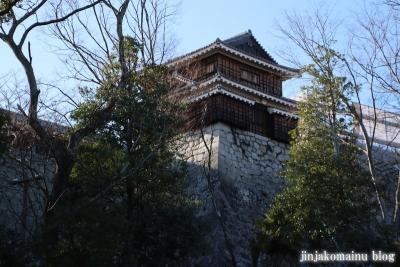 松山城(松山市丸之内)1 筒井門続櫓