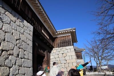 松山城(松山市丸之内)16筒井門