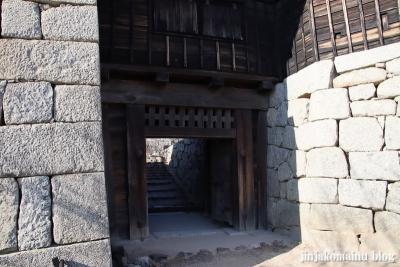 松山城(松山市丸之内)21隠門