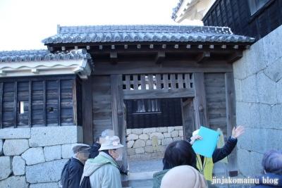 松山城(松山市丸之内)44 三の門