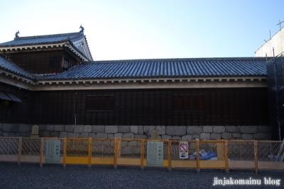 松山城(松山市丸之内)60 南隅櫓と十間廊下
