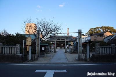 井手神社(松山市北立花町)1