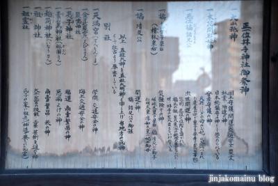 井手神社(松山市北立花町)3