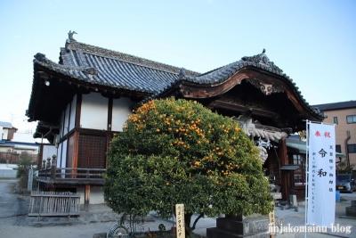 井手神社(松山市北立花町)9