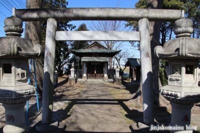 稲荷神社  狭山市狭山4