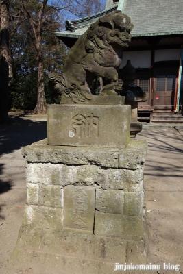 梅宮神社  狭山市上奥富26