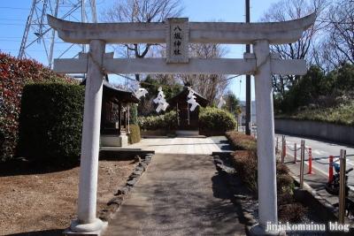 沢八坂神社  狭山市入間川2