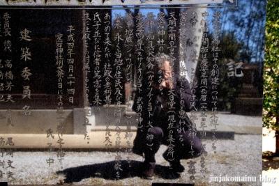 中新田愛宕神社  狭山市中新田8