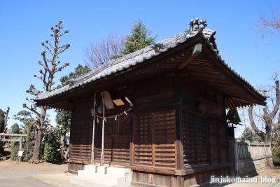 氷川神社  狭山市青柳8