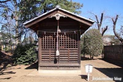氷川神社  狭山市青柳11