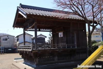 氷川神社  狭山市青柳14