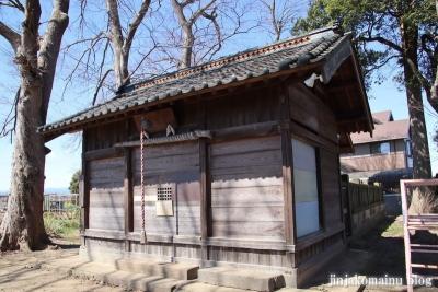 亀井神社  狭山市下奥富8