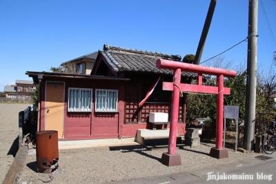 前田稲荷神社  狭山市大字下奥富1