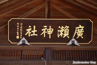 廣瀬神社  狭山市広瀬8