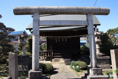 厳島神社  狭山市広瀬2