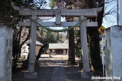 笹井白髭神社  狭山市笹井3