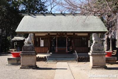 笹井白髭神社  狭山市笹井7