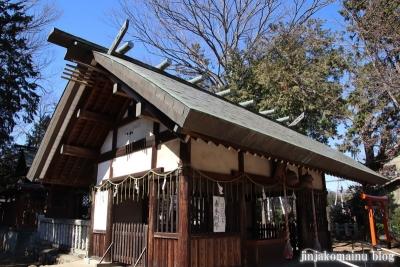 笹井白髭神社  狭山市笹井11