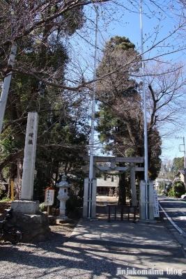 笹井白髭神社  狭山市笹井1