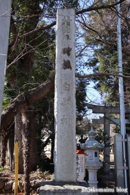 笹井白髭神社  狭山市笹井2