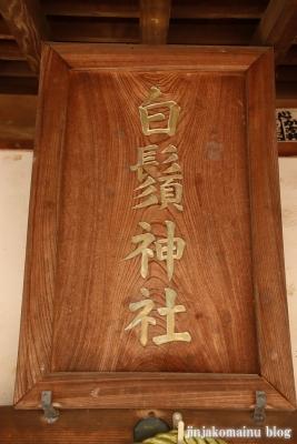 笹井白髭神社  狭山市笹井10