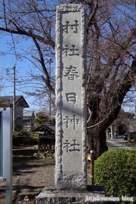 春日神社  入間市春日町2
