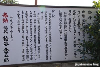 天満天神社  狭山市入間川8