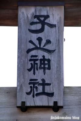 子ノ神社  狭山市入間川2