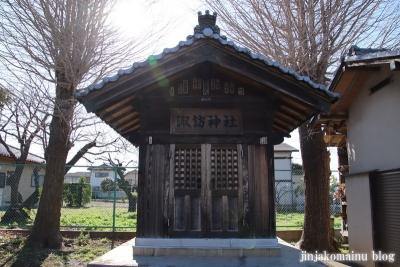 入間川諏訪神社   狭山市入間川3
