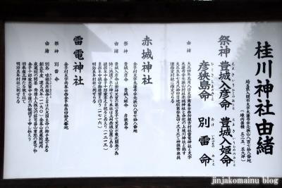 桂川神社 入間市大字木蓮寺4