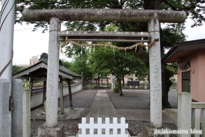 浮島神社  青梅市今井3