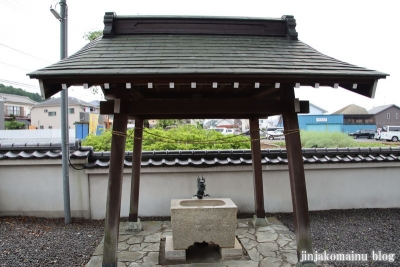 浮島神社  青梅市今井4