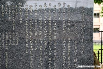 浮島神社  青梅市今井7