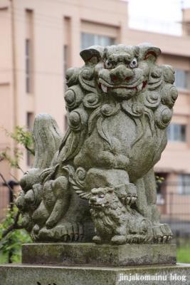 浮島神社  青梅市今井10