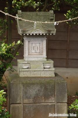 浮島神社  青梅市今井15