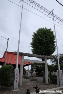 常盤樹神社 青梅市今寺11