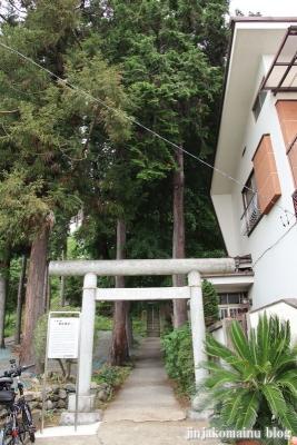 諏訪神社 青梅市千ヶ瀬町2