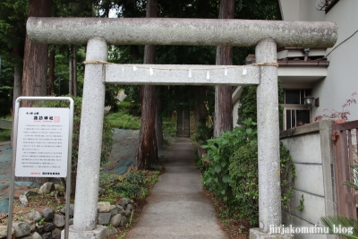 諏訪神社 青梅市千ヶ瀬町3